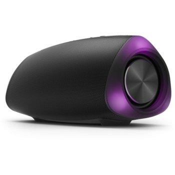 Тонколона Philips TAS5305/00, 2.0, 16W, Bluetooth, AUX, черна, до 12ч. време на работа, 2600 mAh батерия, IPX7 водоустойчива, LED подсветка image