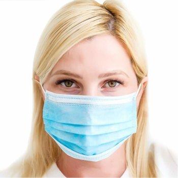 Предпазна маска, за еднократна употреба, регулиране на формата image