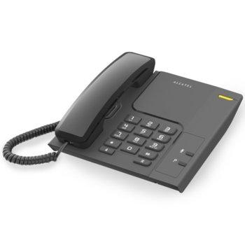 "Стационарен телефон Alcatel Temporis 26, монтаж на стена, бутон ""mute"", черен image"