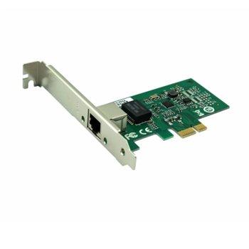 Адаптер за динстанционно управление SeaMAX SA-RTL8111T, 10/100/1000Mbps, PCI Express, RJ45 порт, RTL8111F image