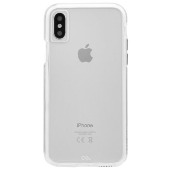 Калъф за Apple iPhone X/XS, термополиуретан, CaseMate Naked Tough Case, прозрачен image