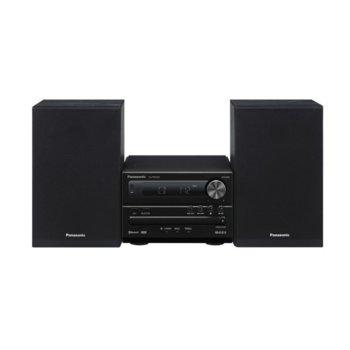 Аудио система Panasonic SC-PM250EG-K, 2.0, 20W RMS, ниска консумация на енергия, XBS Master, Еквалайзер, Bluetooth image
