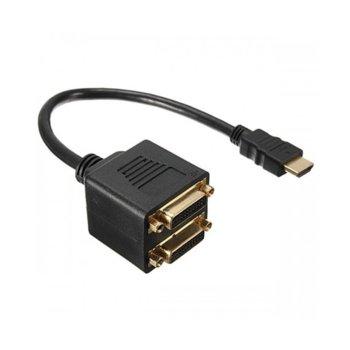 Преходник HDMI(м) към 2x DVI(ж) 18250 product