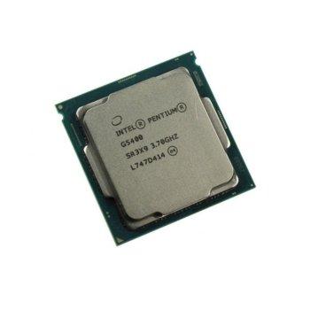 Процесор Intel Pentium Gold G5400 двуядрен (3.7GHz, 4MB, FCLGA1151) Tray, без охлаждане image