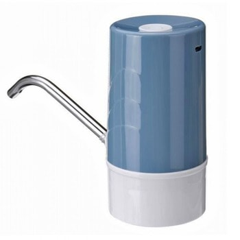 Електрическа помпа за вода SAPIR SP 2013 C Blue, за диспенсър за вода, презареждаема с USB, за бутилки до макс. 11л., синя image