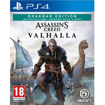 Игра за конзола Assassin's Creed Valhalla, за PS4 image