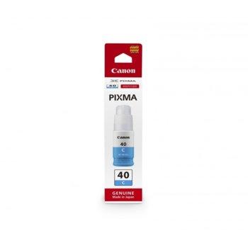 Глава за Canon PIXMA G6040, G5040, GM2040 , GI-40, 6000к, Cyan image
