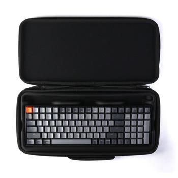 Kалъф за клавиатура Keychon K4 Plastic (K4-SLB), удароустойчив, пластмасов, черен image
