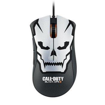 Мишка Razer Call of Duty: Black Ops III DeathAdder Chroma, гейминг, подсветка, оптична (10000 dpi), USB, черна, програмируеми бутони  image