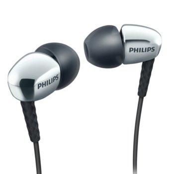 Слушалки Philips SHE3900SL, AUX 3.5mm, позлатен конектор, сиви image