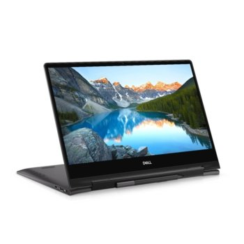 "Лаптоп Dell Inspiron 7391 2in1 (5397184439623), четириядрен Comet Lake Intel Core i7-10510U 1.8/4.9 GHz, 13.3"" (33.78 cm) UHD/4K IPS Touchscreen Glare Display, (HDMI), 16GB, 512GB SSD, 1x USB 3.1 Type C, Windows 10 Pro image"