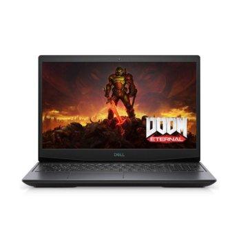 "Лаптоп Dell G5 5500 (5397184440049-16GB-1TBHDD), шестядрен Comet Lake Intel Core i7-10750H 2.6/5.0 GHz, 15.6"" (39.62 cm) Full HD Anti-Glare Display & GTX 1650 Ti 4GB, (HDMI), 16GB DDR4, 512GB SSD & 1TB HDD, 1x USB 3.2 Type C, No OS image"