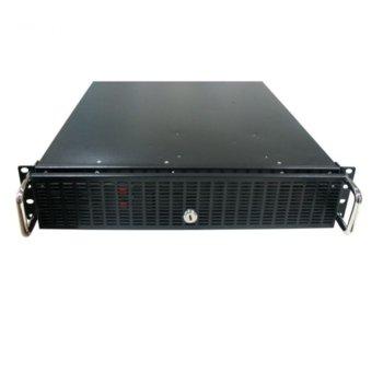 Кутия за комуникационен шкаф PRIVILEG CASE-2U, 2U, ATX, черна image