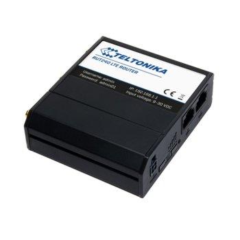 Рутер Teltonika RUT240, 4G, 150Mbps, 2.4GHz(150 Mbps), Wireless N1x LAN 100, 3x сваляеми външни антени, 1x SIM слота, Open VPN, предназначен за клетъчна комуникация image