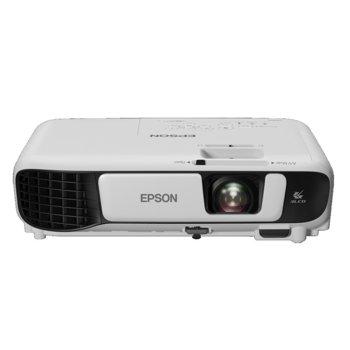 Проектор Epson EB-W42, 3LCD, WXGA (1280x800), 15 000 : 1, 3600 lm, HDMI, VGA, USB, Wi-Fi image