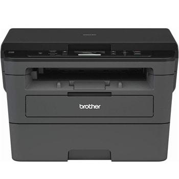 Мултифункционално лазерно устройство Brother DCP-L2512D, монохромен принтер/копир/скенер, 2400 x 600 dpi, 30 стр./мин, USB, двустранен печат, A4 image