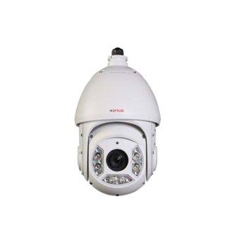 """IP камера CP Plus CP-UNP-2020TL10, куполна """"PTZ(Pna/Tilt/Zoom)"""", 2 Mpix(1920x1080@60FPS), 20x оптично увеличение, H.264H/H.264B/H.264/MJPEG, IR осветеност (до 100 метра), външна, IP66 устойчивост, microSD слот image"""