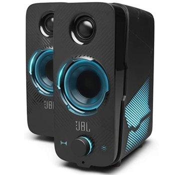 Тонколони JBL Quantum Duo, 2.0, 20W, Bluetooth 4.2, черни, USB, 3.5 mm jack output image