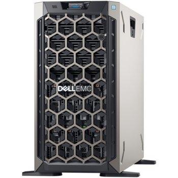 Сървър Dell PowerEdge T340 (PET340CEEM01-01-14), четириядрен Intel Xeon E-2224 3.4 GHz, 16GB DDR4 ECC UDIMM, 1x 1TB HDD, 2x 1GbE, 3x USB 3.0, 1x 495W image