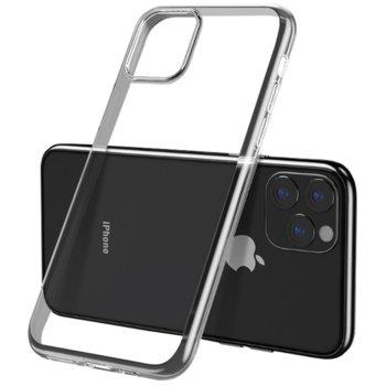 Калъф за Apple iPhone 11, страничен протектор с гръб, силиконов, Remax Light Slim, дизайн очертаващ оригиналните извивки на устройството, прозрачен image