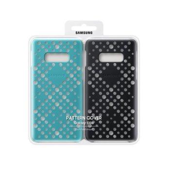 Калъф за Samsung Galaxy S10e (2 бр.), Samsung Pattern, силикон, черен & син image