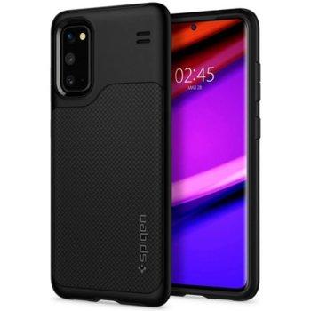 Kалъф за Samsung Galaxy S20, хибриден, Spigen Hybrid NX Case ACS00998, черен image