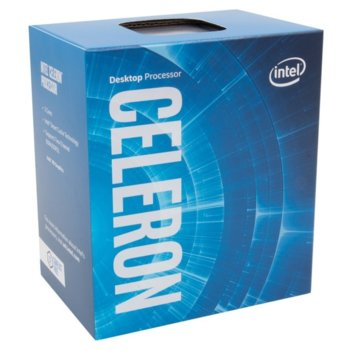 Процесор Intel Celeron G5905, двуядрен (3.50 GHz, 4MB Cache, 1050MHz графична честота, LGA1200) BOX, с охлаждане image