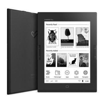 "Електронна книга Energy Sistem eReader Pro HD, 6""(15.24cm), E Ink Carta HD дисплей, 8GB Flash памет, Wi-Fi, черна image"