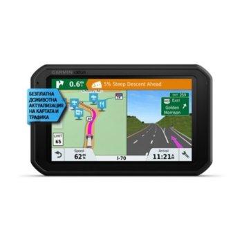 """Навигация за автомобил Garmin dēzl 780 LMT-D, 7""""(17.78cm), IPS TFT дисплей, 16GB вградена памет, Wi-Fi, Bluetooth, microSD слот, карта на Европа, доживотно обновяване image"""
