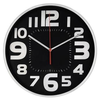 Часовник Hama Emotion, аналогово указание, стенен, черен image