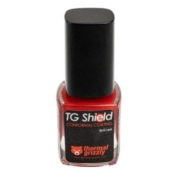 Защитен лак Thermal Grizzly Shield, 5ml, червен image
