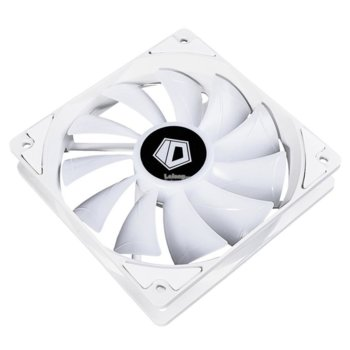 Вентилатор 120mm XF-12025-RGB-SNOW, 4-пинов, 1800rpm, бял, RGB подсветка image