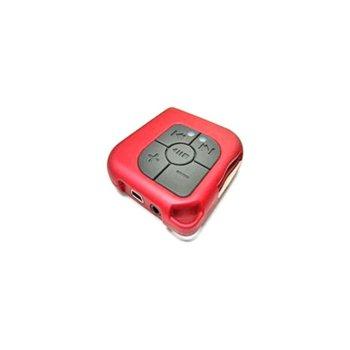 MP3 плеър, DELUX DLA-640A (червен), слот за SD/MMC карта image