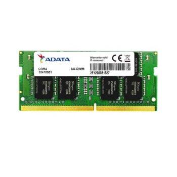 Памет 16GB DDR4 2666MHz, SO-DIMM, A-Data AD4S2666316G19-B, 1.2V image