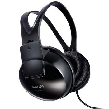 Слушалки PHILIPS SHP1900/10, 2м кабел, черни image