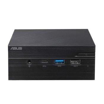 Настолен компютър Asus PN40-BC100MC (90MS0181-M01000), четириядрен Gemini Lake Intel Celeron N4100 1.1/2.4 GHz, 4GB DDR4, 128GB SSD, 2x USB 3.1, No OS image