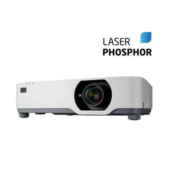 Преносим проектор NEC P525UL, 3LCD, WUXGA (1920x1200), 500000:1, 5000 lumens, HDMI, VGA, USB, RS232, RJ-45, HDBaseT image