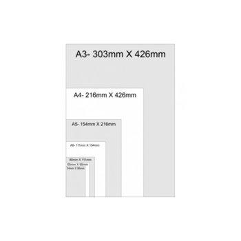 Фолио за ламиниране, размер 54x86 mm, 125 mic, 100бр. image