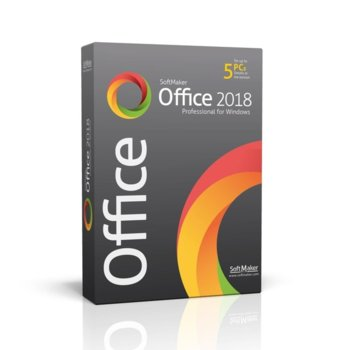 Софтуер SoftMaker Office Proffesional 2018, 1/5 потребители, български, за Windows image