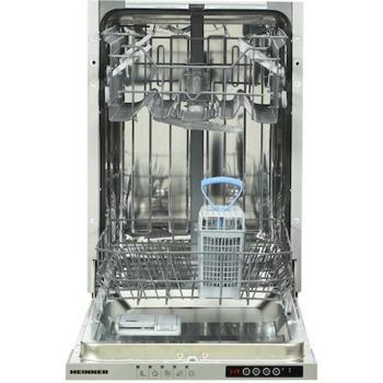 Съдомиялна Heinner HDW-BI4505IE++, енергиен клас Е, 10 комплекта, 5 програми, защита от протичане, отложен старт, цикъл с половин зареждане, бяла image