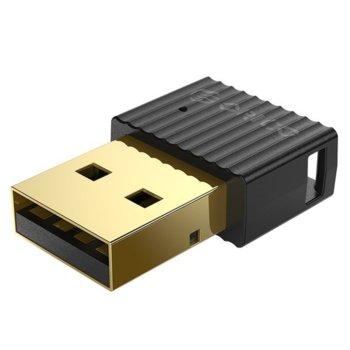 Адаптер Orico BTA-508-BK, USB, Bluetooth v5.0+EDR, обхват до 20m, черен image