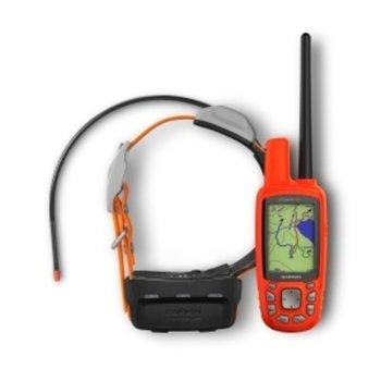"""Навигация за проследяване на кучета Garmin Atemos 50 в комплект с K5 каишка, 2.6"""" (6.6 cm) TFT сензорен цветен дисплей, microSD слот, вградена карта на Европа image"""