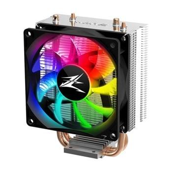 Охлаждане за процесор Zalman CNPS4X RGB (ZM-CNPS4X-RGB), съвместимост със сокети Intel LGA 1200/1151/1150/1155/1156/775 & AMD AM4/AM3+/AM3/FM2+/FM2 image