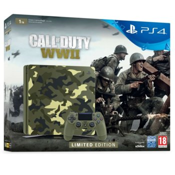 Sony PlayStation 4 Slim LE 1TB CoD WW2 product