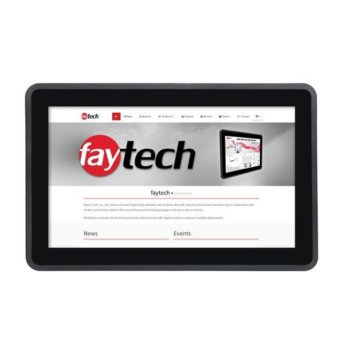 "Индустриален монитор Faytech FT133TMBCAPOB, 13.3"" (33.78 cm) Full HD Touchscreen, HDMI, DVI-D, VGA  image"