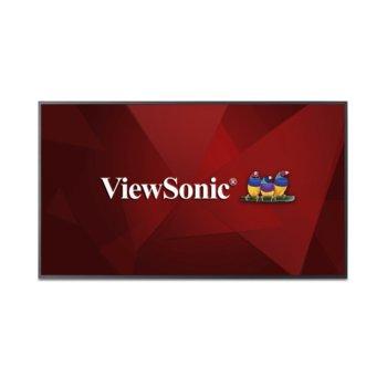 "Дисплей ViewSonic CDE6510, 65"" (165.1 cm), Ultra HD, HDMI, VGA, DisplayPort, RS232, USB image"