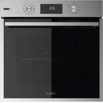 Фурна за вграждане Whirlpool OAS KP8V1 IX, 71л. обем, 8 програми, покритие против отпечатъци, 3 програми за готвене на пара (Хляб/Месо/Риба), енергиен клас А+, инокс image