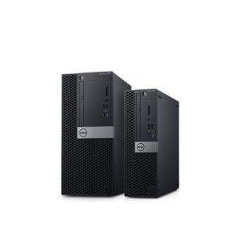 Настолен компютър Dell OptiPlex 7060 MFF (N022O7060MFF), шестядрен Coffee Lake Intel Core i7-8700T 2.4/4.0 GHz, 8GB DDR4, 256GB SSD, клавиатура и мишка, Linux image