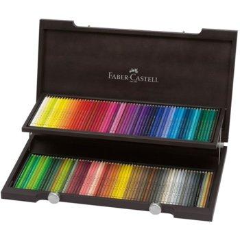 Faber-Castell Polychromos 120 цвята дървена кутия product
