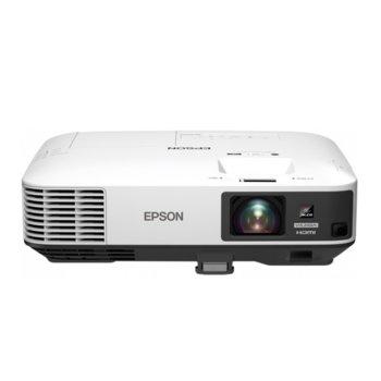 Проектор Epson EB-2250U, 3LCD, WUXGA (1920 x 1200), 15,000:1, 5,000lm, 1x DisplayPort, 2x HDMI, 2x VGA, 1x RJ45, бял  image